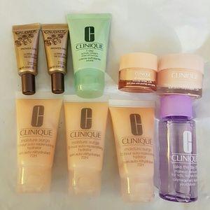 Clinique & Caudalie Skincare lot